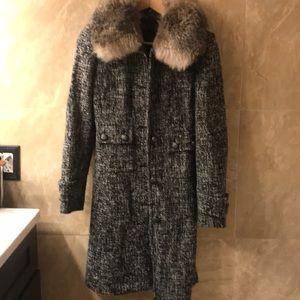 Express tweed coat